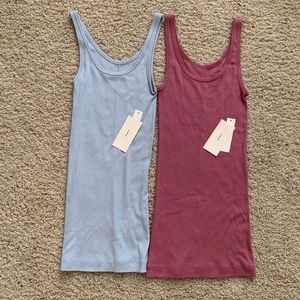 2 NWT Vince tank tops size XS